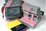 限量 600 粉紅 Cool Cam 連原裝袋 及 600 film (600-0021)
